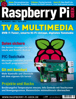 Raspberry Pi Geek 04-2019