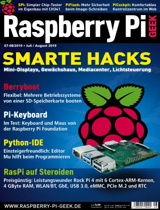 Raspberry Pi Geek 08-2019