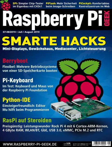 Raspberry Pi Geek June 06, 2019 00:00