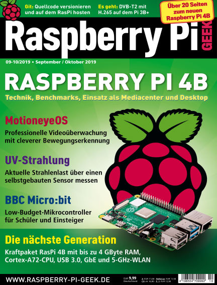 Raspberry Pi Geek August 08, 2019 00:00