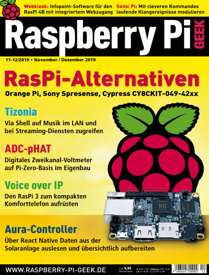 Raspberry Pi Geek October 02, 2019 00:00