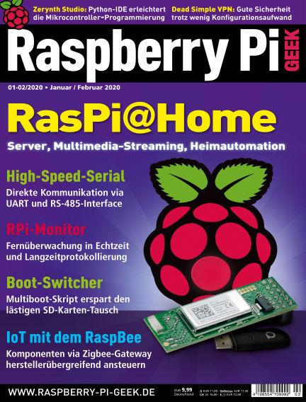 Raspberry Pi Geek December 05, 2019 00:00