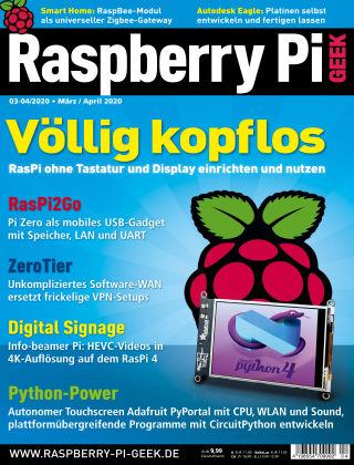 Raspberry Pi Geek 04-2020