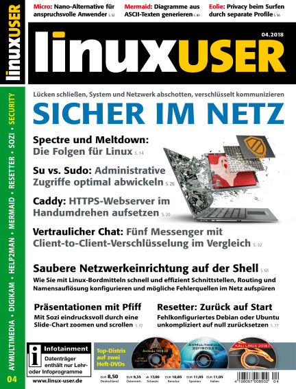 LinuxUser March 22, 2018 00:00