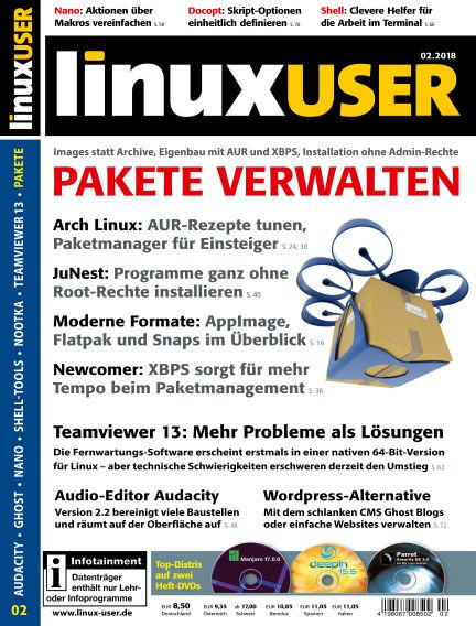 LinuxUser January 18, 2018 00:00