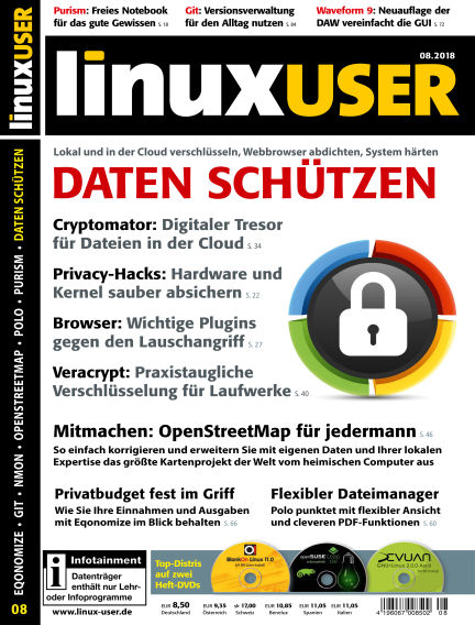 LinuxUser July 19, 2018 00:00