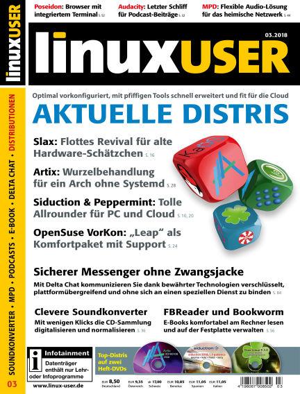 LinuxUser February 22, 2018 00:00