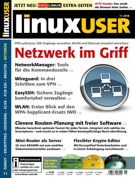 LinuxUser October 18, 2018 00:00