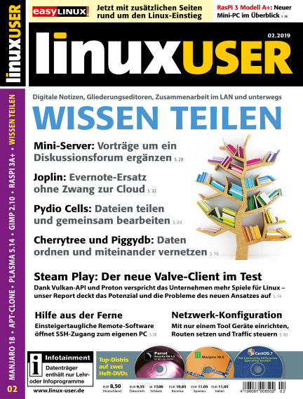 LinuxUser January 17, 2019 00:00
