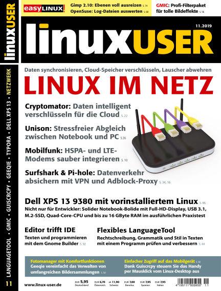 LinuxUser October 17, 2019 00:00