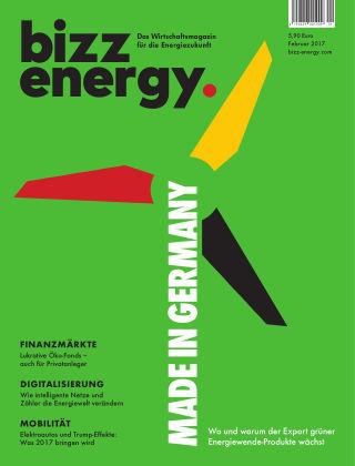 bizz energy Februar 2017
