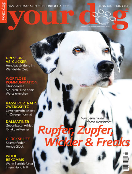 Your Dog January 07, 2016 00:00