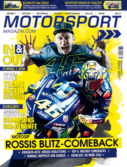 Motorsport-Magazin October 19, 2017 00:00