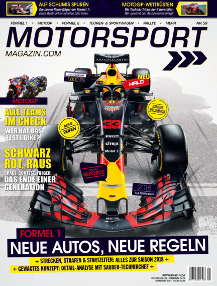 Motorsport-Magazin March 22, 2018 00:00