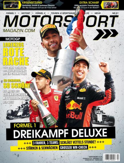Motorsport-Magazin July 12, 2018 00:00