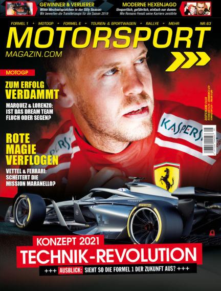 Motorsport-Magazin October 25, 2018 00:00