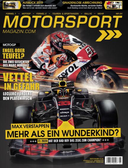 Motorsport-Magazin December 13, 2018 00:00