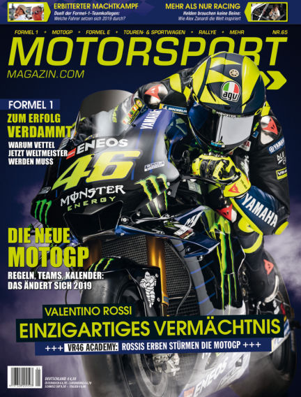 Motorsport-Magazin February 21, 2019 00:00