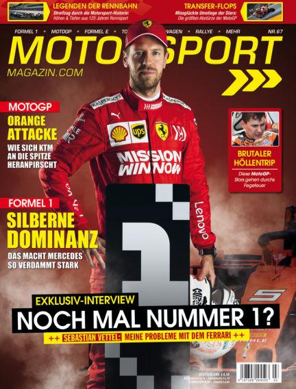 Motorsport-Magazin June 27, 2019 00:00