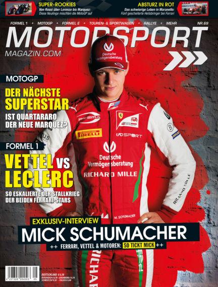 Motorsport-Magazin October 31, 2019 00:00