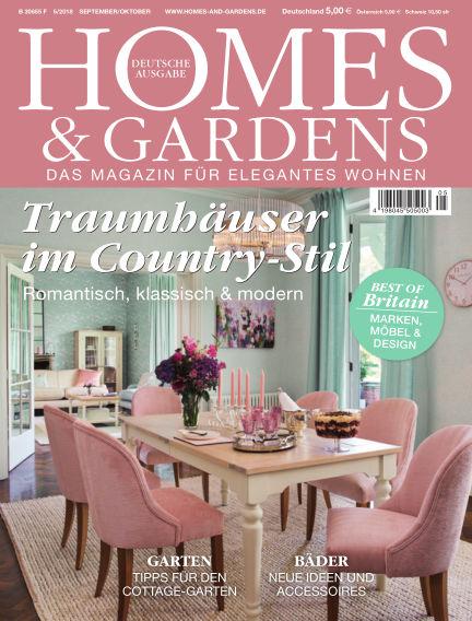 HOMES & GARDENS - DE September 01, 2018 00:00