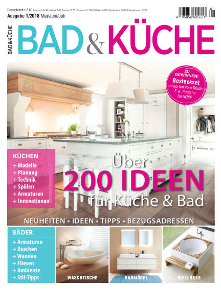 BAD & KÜCHE (eingestellt) September 01, 2018 00:00