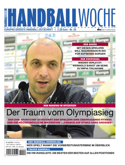 HANDBALLWOCHE July 19, 2016 00:00