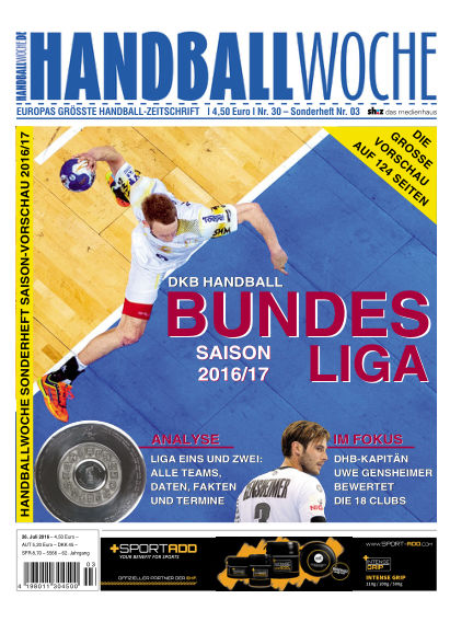 HANDBALLWOCHE July 26, 2016 00:00