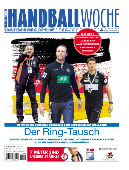 HANDBALLWOCHE January 31, 2017 00:00