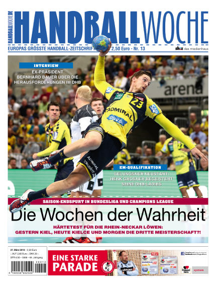 HANDBALLWOCHE March 27, 2018 00:00