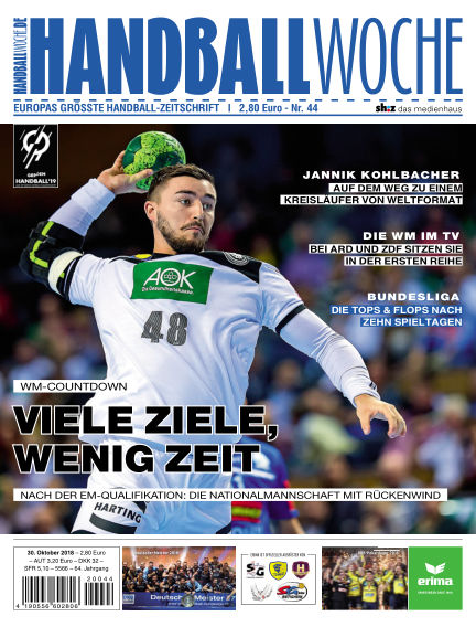 HANDBALLWOCHE October 30, 2018 00:00