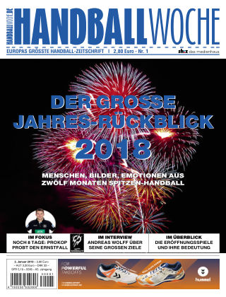 HANDBALLWOCHE Nr1_2019