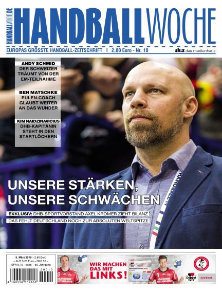 HANDBALLWOCHE March 05, 2019 00:00