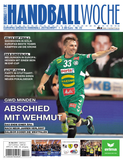HANDBALLWOCHE May 28, 2019 00:00