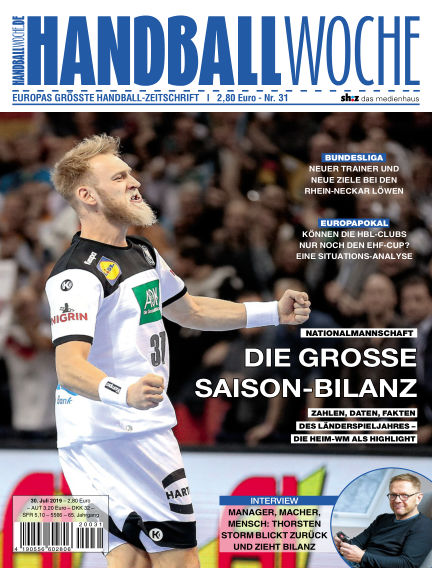 HANDBALLWOCHE July 30, 2019 00:00