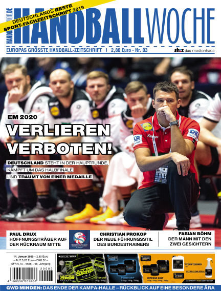 HANDBALLWOCHE January 14, 2020 00:00