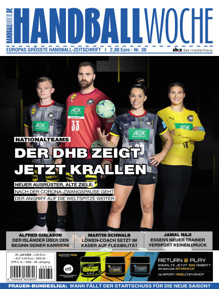 HANDBALLWOCHE July 21, 2020 00:00