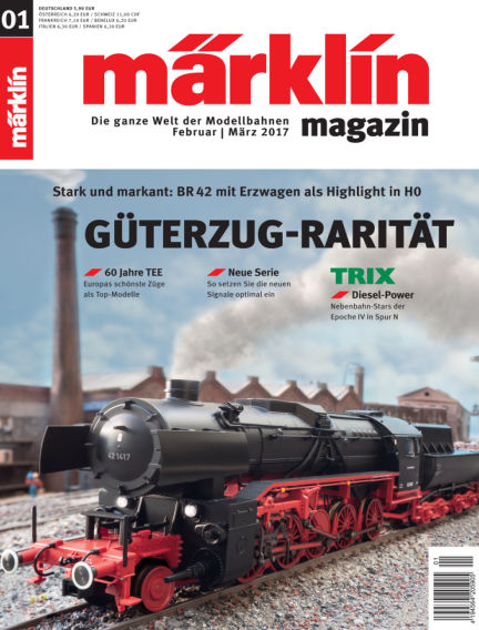 märklin magazin March 25, 2017 00:00