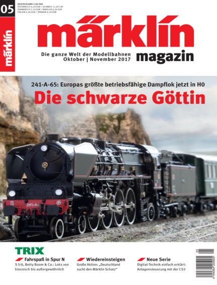 märklin magazin October 06, 2017 00:00