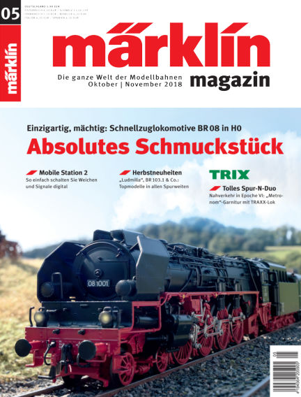 märklin magazin October 04, 2018 00:00