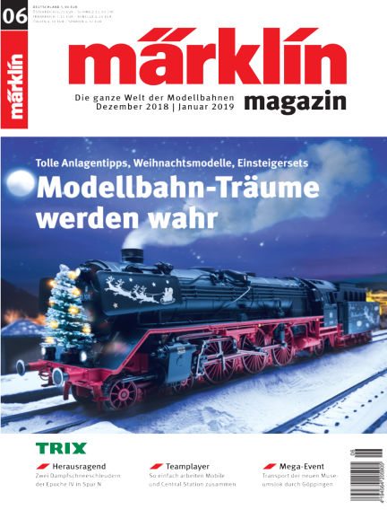 märklin magazin December 04, 2018 00:00