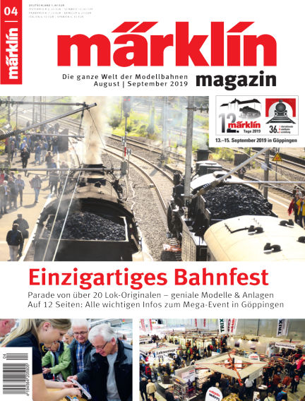 märklin magazin August 05, 2019 00:00
