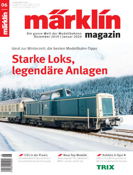 märklin magazin December 04, 2019 00:00