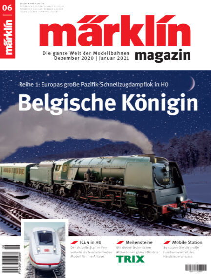 märklin magazin December 03, 2020 00:00