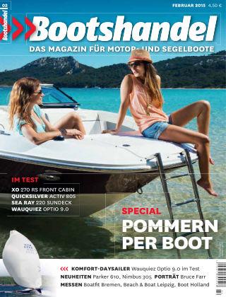 Bootshandel (eingestellt) Nr. 2 2015