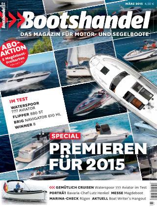 Bootshandel (eingestellt) Nr. 3 2015