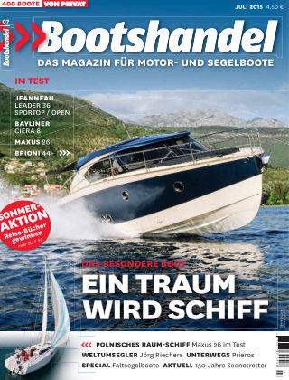Bootshandel (eingestellt) Nr. 7 2015