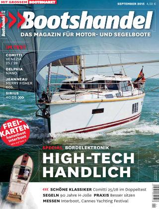 Bootshandel (eingestellt) Nr. 9 2015