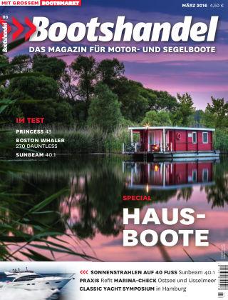 Bootshandel - Das Magazin für Motor- und Segelboote Nr. 3 2016