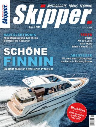 SKIPPER Bootshandel 08/2015